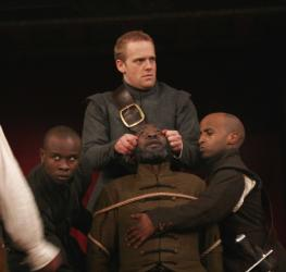 Scene from King Lear, Shakespeare's Globe, 2008