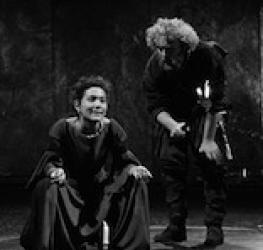 Naomi Wirthner as Imogen, Cymbeline, Royal Shakespeare Company, Royal Shakepseare Theatre, 1989