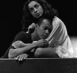 Scene from Romeo and Juliet, Hull Truck, Shaw Theatre, 1990
