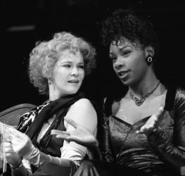 David Thacker's Two Gents 1991 production in the Swan showing Josette Bushell-Mingo as Lucetta