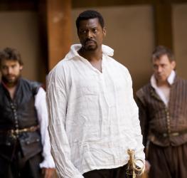 Portrait of Eamonn Walker as Othello, Shakespeare's Globe, 2007