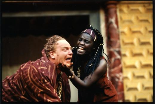 Scene from A Winter's Tale, Shakespeare's Globe, 1997