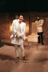 Scene from Richard II, National Theatre, 1995