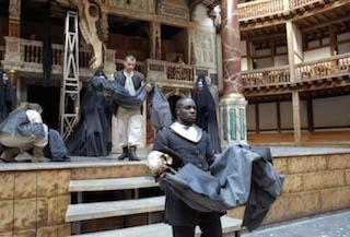 Scene from Two Noble Kinsmen, Shakespeare's Globe, 2000
