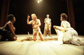 Scene from Timon of Athens, Royal Shakespeare Company, Royal Shakespeare Theatre, 1999