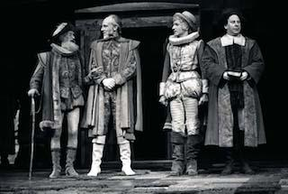 Scene from The merry Wives of Windsor, Royal Shakespeare Company, Royal Shakespeare Theatre, 1975