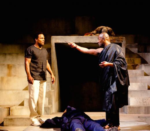 Scene from Julius Caesar, Royal Shakespeare Company, Royal Shakepseare Theatre, 2012