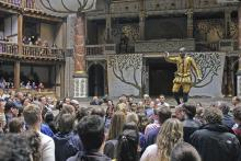 Scene from Love's Labour's Lost, Shakespeare's Globe, 2007