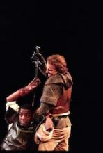 Paterson Joseph as Hotspur, Henry IV Part 1, English Touring Theatre, 1997