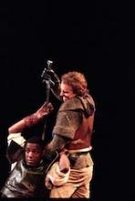 Paterson Joseph as Hotspur, Henry IV Part 1, English Touring Theatre, 1997