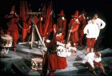 A scene from All's Well that Ends Well, Royal Shakespeare Company, Royal Shakespeare Theatre, 1967