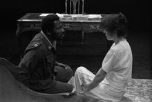 Scene from Othello, Young Vic, 1984