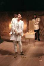 Scene from Richard II, National Theatre, 1995