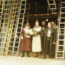 Scene form King John, Royal Shakespeare Company, The Other Place, Stratford-upon-Avon, 1988