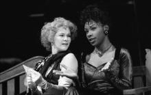 Scene from The Two Gentlemen of Verona, Royal Shakespeare Company, Swan Theatre, 1991
