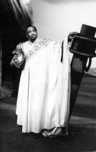 Portrait of Paul Robeson as Othello, Shakespeare Memorial Theatre, 1959