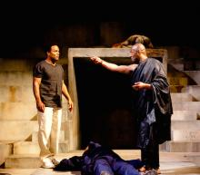 Scene from Julius Caesar, Royal Shakespeare Company, Royal Shakepseare Theatre, 2012